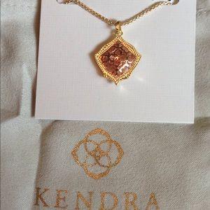 Kendra Scott Kacey gold/ rose gold necklace